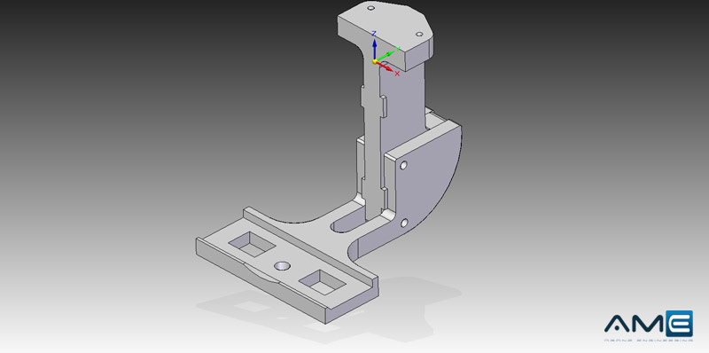 AM-E | Componenti Custom - Supporto-camera