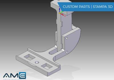 Progettazione componenti custom e stampa 3D