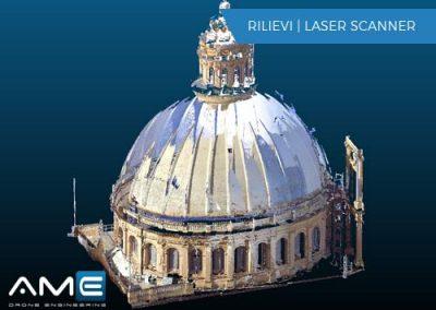 Rilievo Laser Scanner – Cupola – La Valletta (Malta)