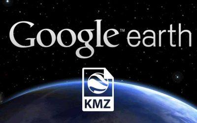 Come creare un file kmz o kml per l'inquadramento di un'area su Google Earth